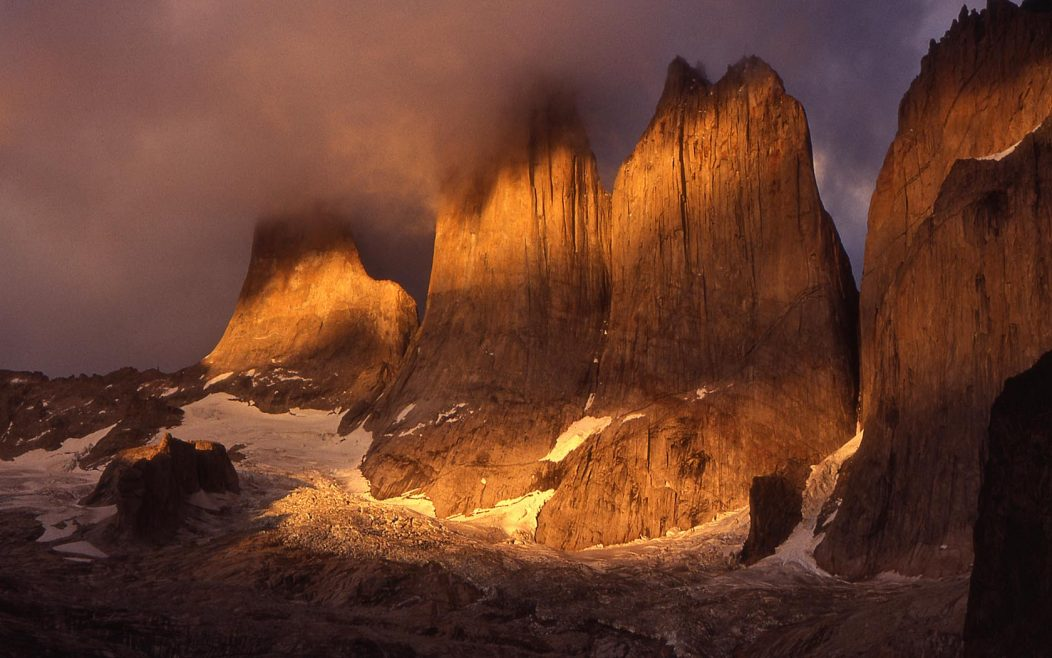 The Granite Towers of Torres del Paine National Park