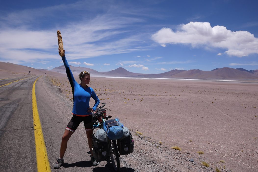 On route to Paso de Jama, Chile