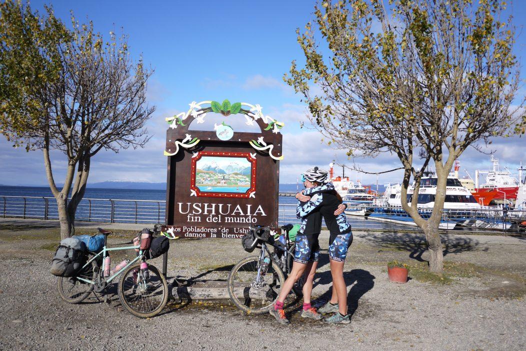 Happy after a 9,000 km cyclehappy after a 9,000 km cycle
