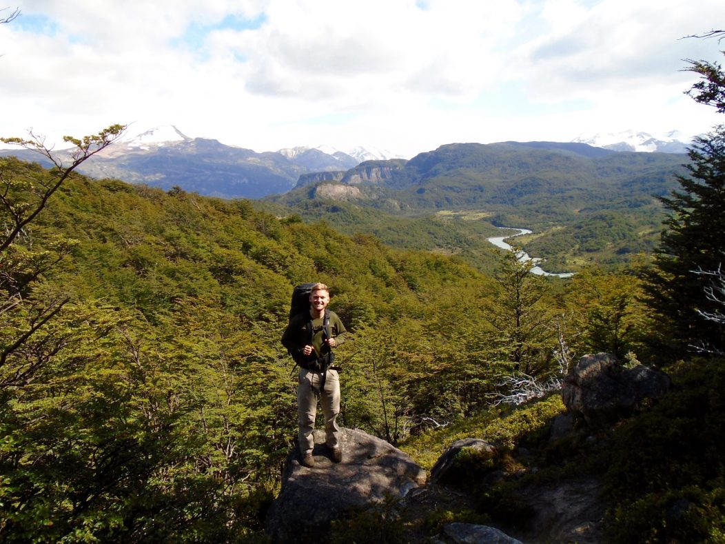 Tom getting away from the crowds in Torres del Paine