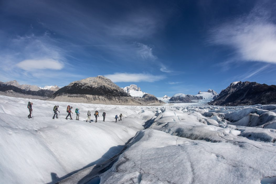 Trekking the Aysen Glacier Trail