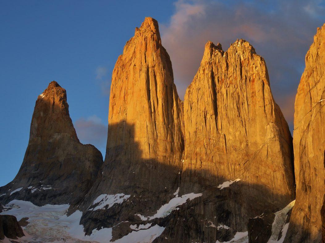 Las Torres at sunrise