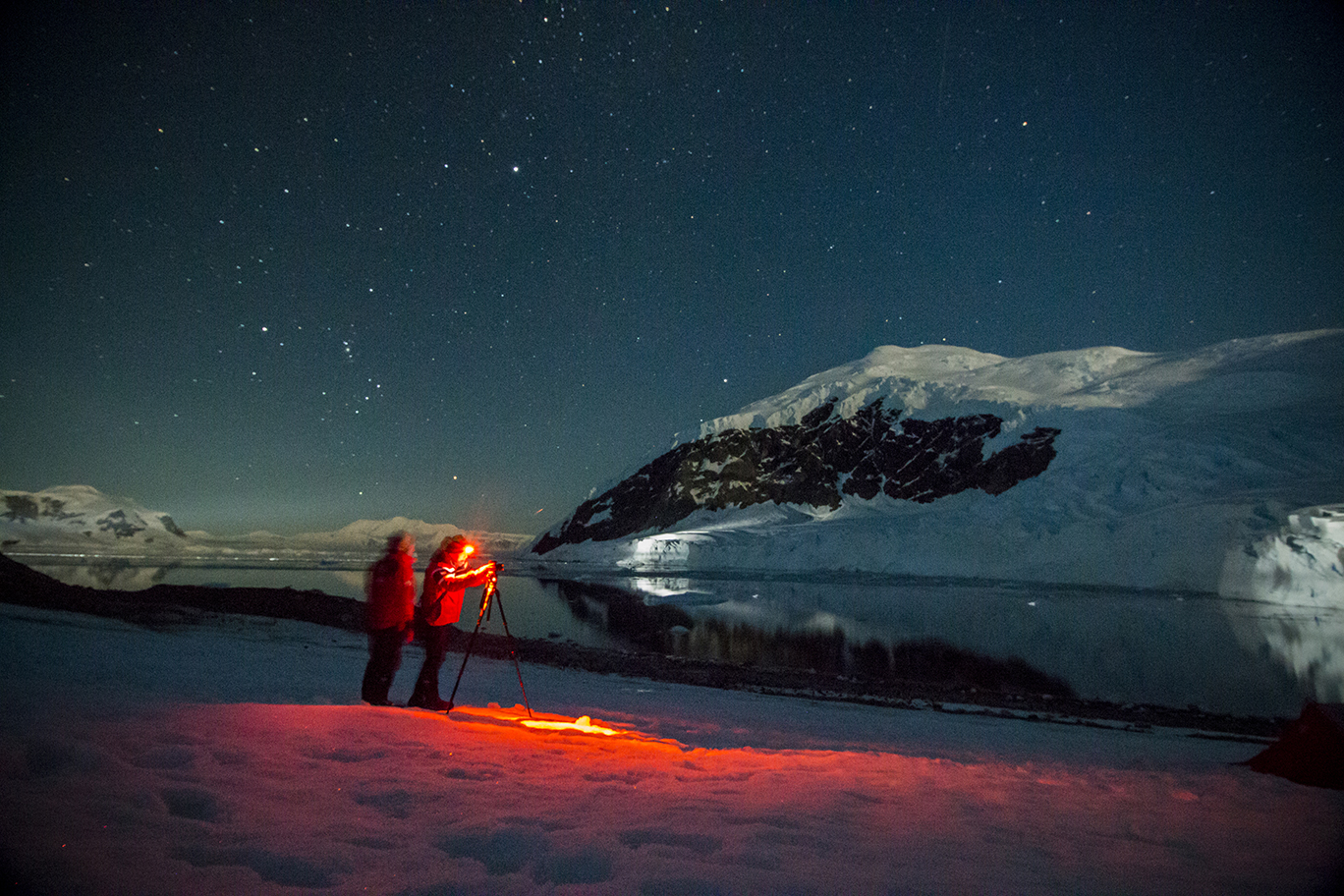 полярная ночь в антарктиде фото вещей конечно