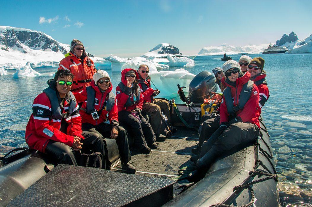 Seb Coulthard Antarctic Ambassador