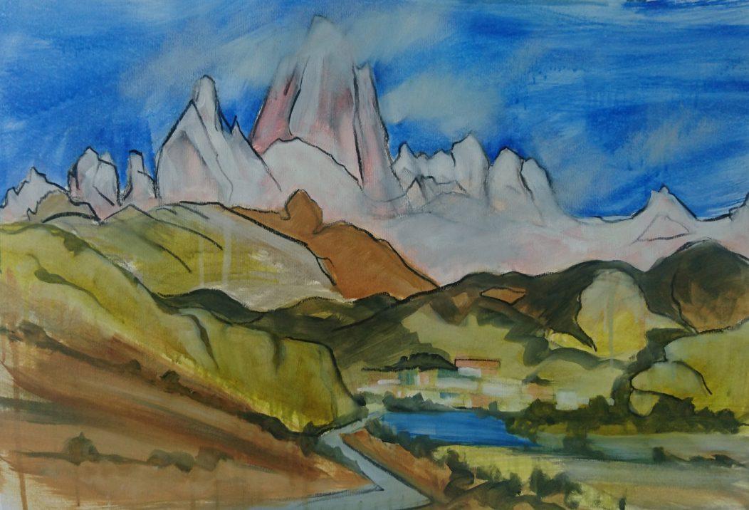 Mount FitzRoy (El Chalten) study