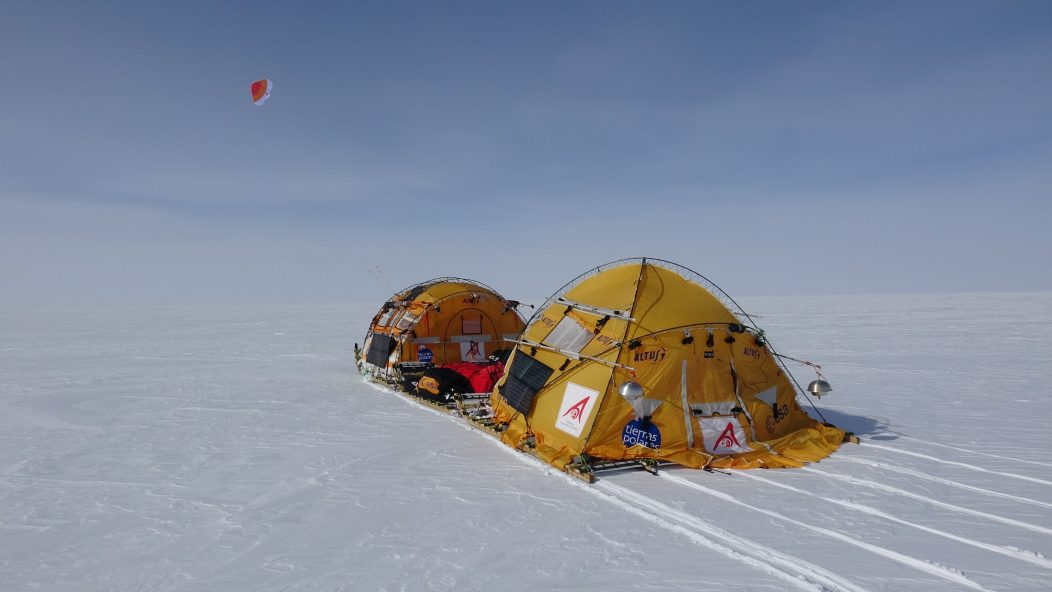 WindSled in unexplored Antarctica 2018-19